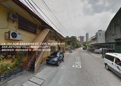 704 Sqm Mayapis St Cor Bakawan Barangay San Antonio